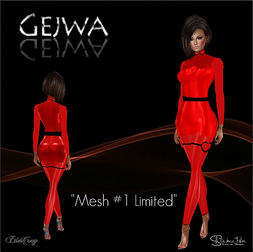 Valentine mesh #1 LIMITED IMVU MESH & TEXTURE