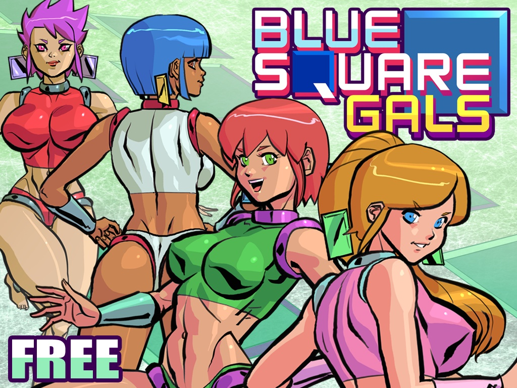 Blue Square Gals Free