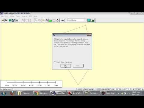 Convertir archivos de kmz o kml a dwg de google eart for Dwg to kmz converter