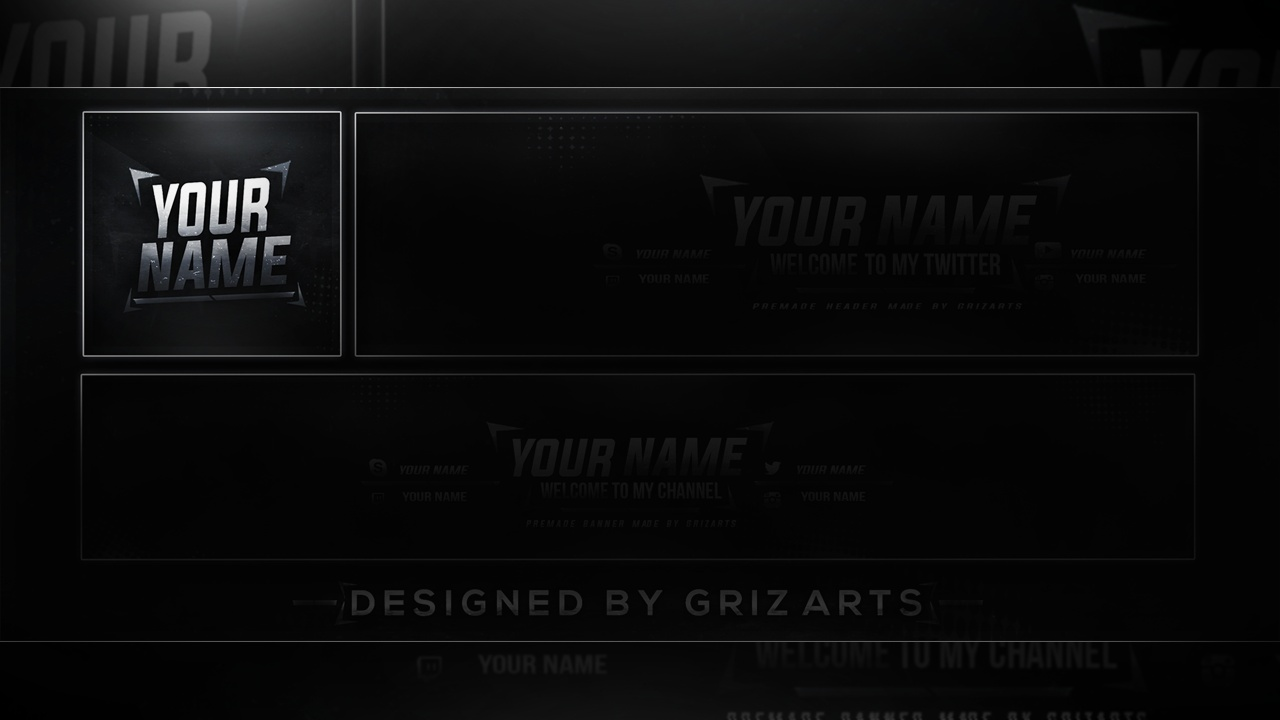 Griz Art's Free Revamp Template (Avatar) - 2017 Download