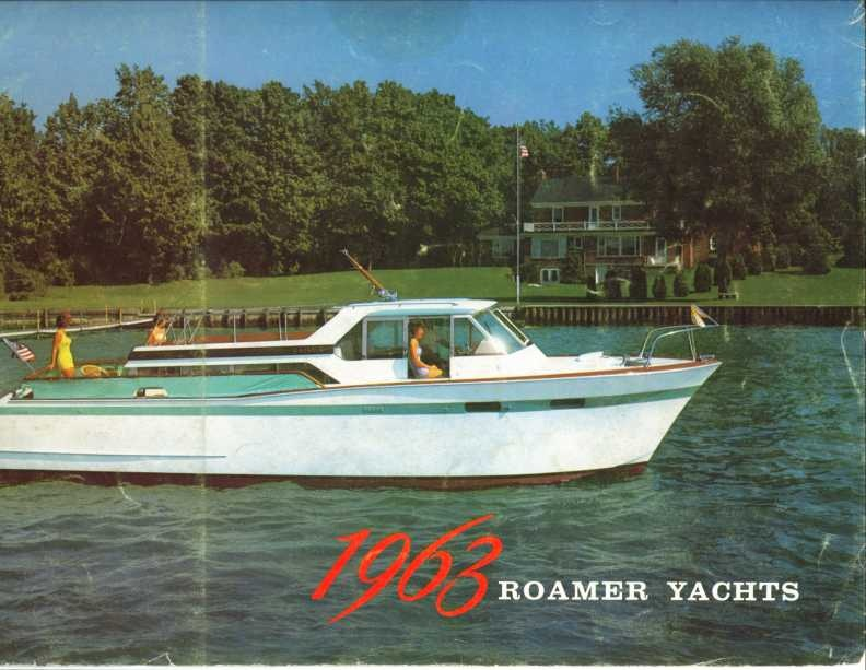 1963 Chris Craft Roamer Yachts