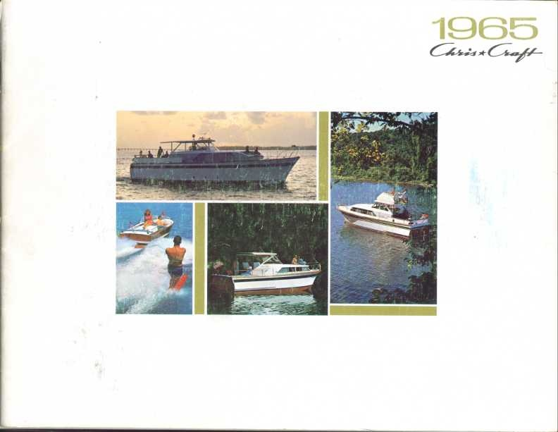 1965 Chris Craft Sales Catalog