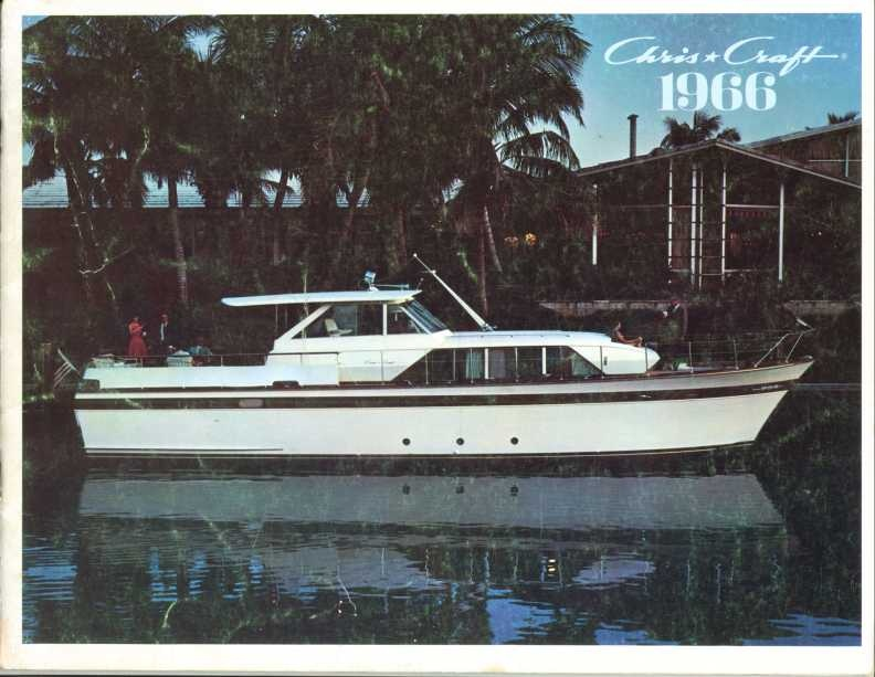 1966 Chris Craft Catalog