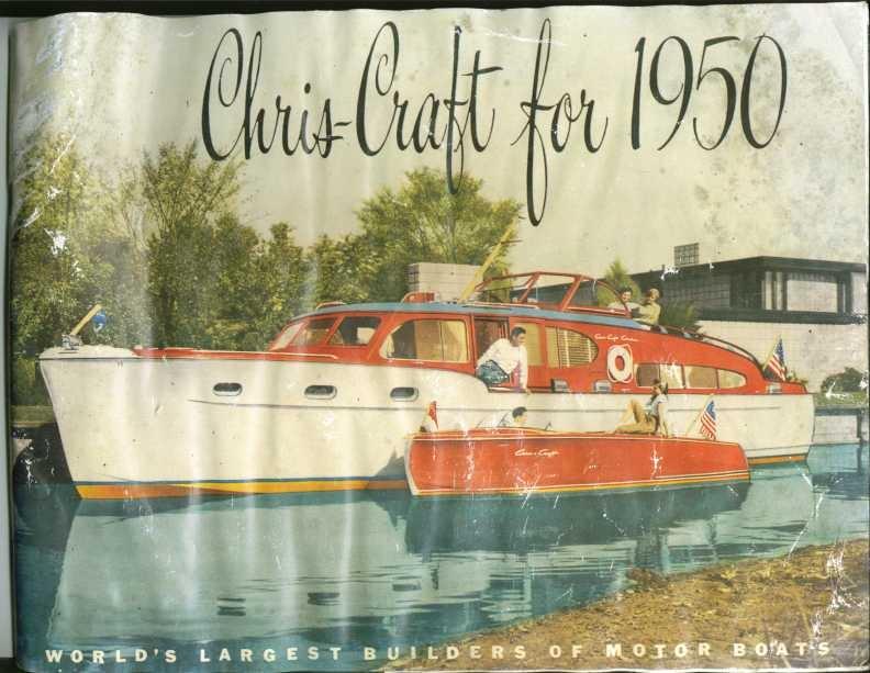 1950 Chris Craft Sales Catalog