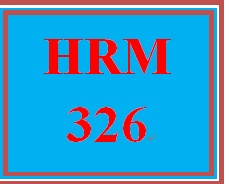 HRM 326 Week 2 Training Key Areas