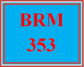 BRM 353 Week 3 ProductBrand Development Phase II