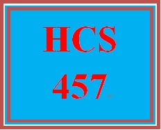 HCS 457 Week 5 The Big Picture