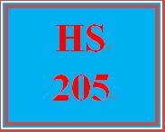 HS 205 Week 1 Measuring Need