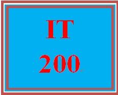 IT 200 Week 2 Films on Demand®: IT Networks