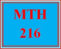 MTH 216 Week 2 PowerPoint® Presentations