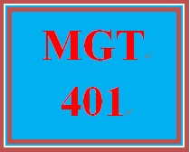 MGT 401 Week 4 Intellectual Property Issues