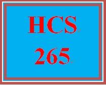 HCS 265 Week 2 Magazine Response