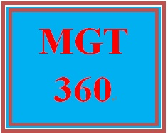 MGT 360 Week 3 Corporate Executive Memo