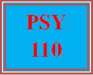 PSY 110 Week 5 Building Networks