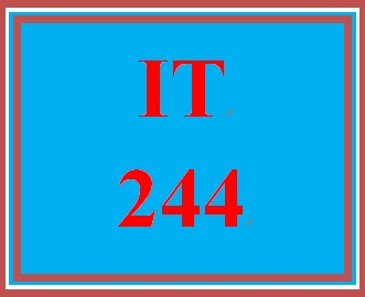 IT 244 Week 8 Individual Information Security Policy – Network Security Policy