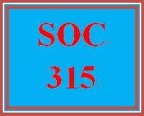 SOC 315 Week 4 EEOC Paper and Presentation