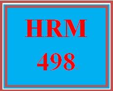 HRM 498 Week 3 Company Profile Analysis