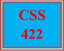 CSS 422 Week 3 Learning Team: Use Cases, User Stories, Components and Connectors