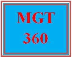 MGT 360 Week 1 Sustainability Worksheet