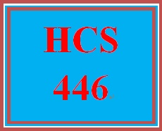 HCS 446 Week 1 Facility Design Process
