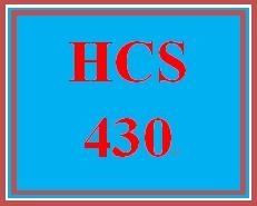 Hcs 430 week 4