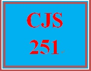 CJS 251 Week 2 Courtroom Participation Professional Standards