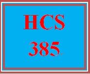 HCS 385 Week 5 Benchmark Assignment—Capital Management