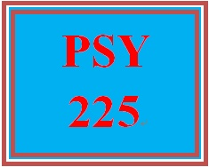 PSY 225 Week 3 Happiness