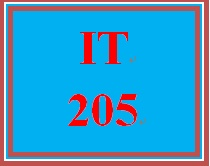 IT 205 Week 1 Individual Reflection of Personal IT Background