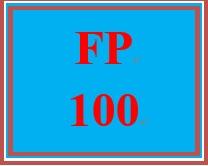 FP 100 Week 5 Retirement Planning Worksheet