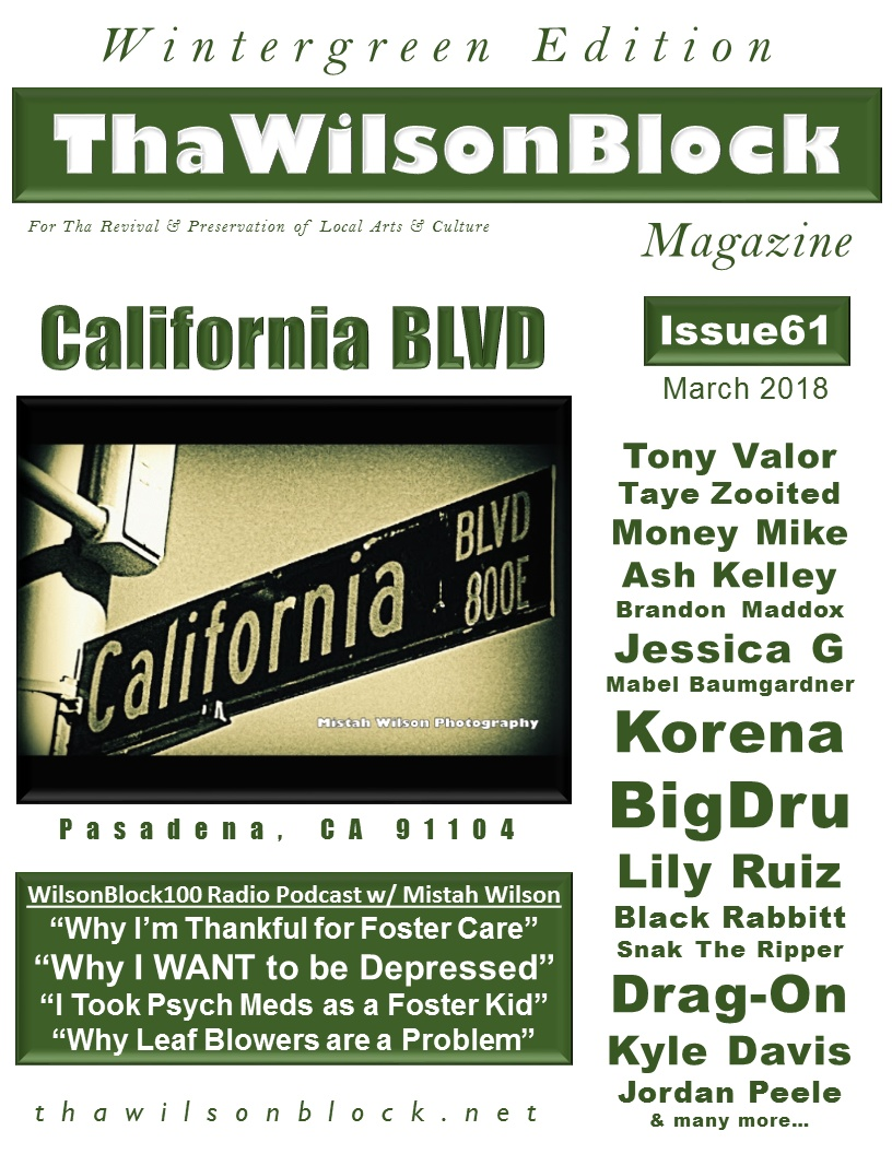ThaWilsonBlock Magazine Issue61 (March 2018 / Wintergreen Edition)