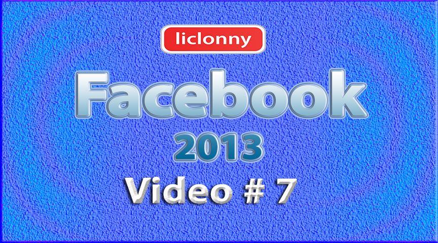 Tutorial Facebook 2013 (Español) No. 7