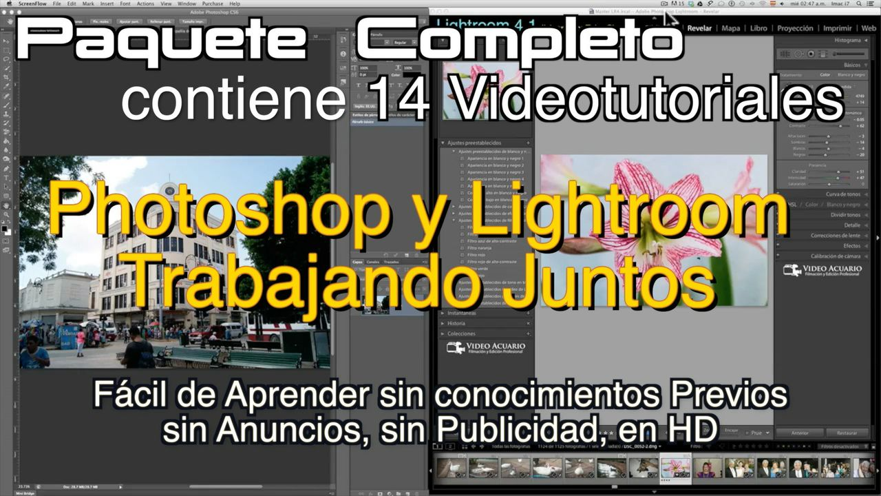 Photoshop y Lightroom Trabajando Juntos.