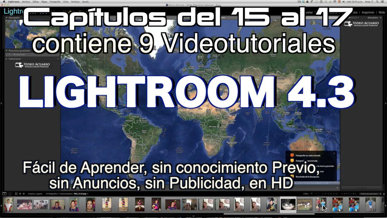Lightroom 4.3 Capítulos 15 al 17 Paquete 4