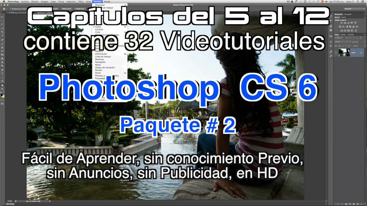 Photoshop CS 6 Capítulos 5 al 12 Paquete 2