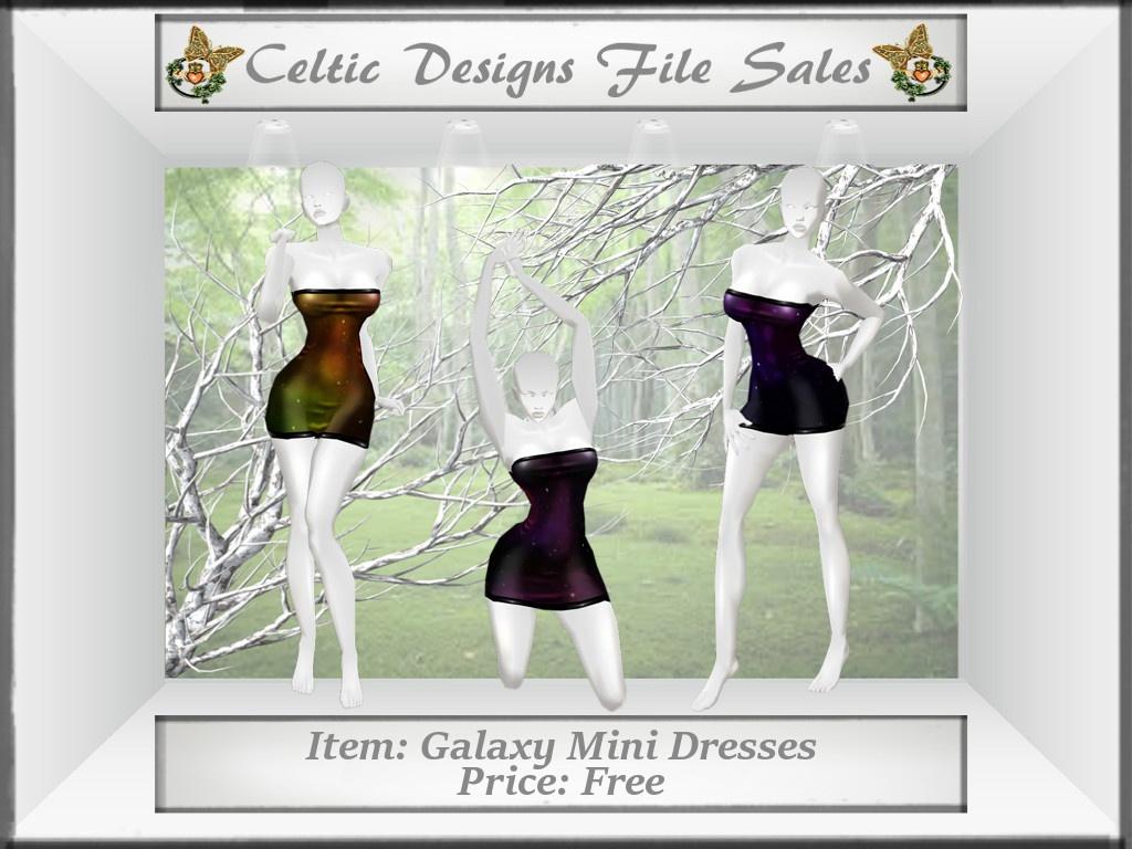 CD Galaxy Mini Dresses