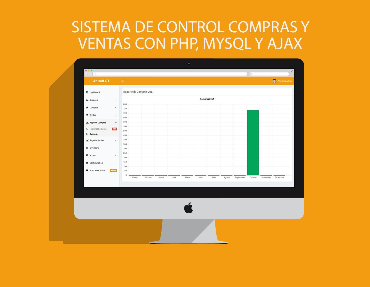 SISTEMA DE CONTROL COMPRAS Y VENTAS CON PHP, MYSQL Y AJAX