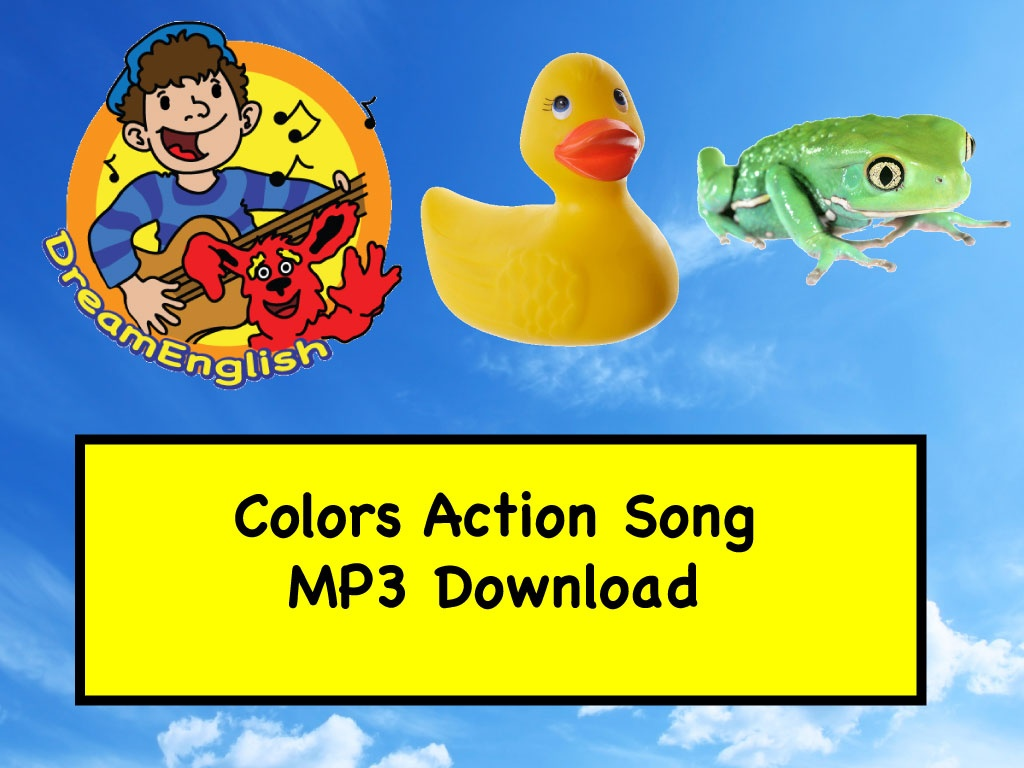 Colors Action Song with Matt