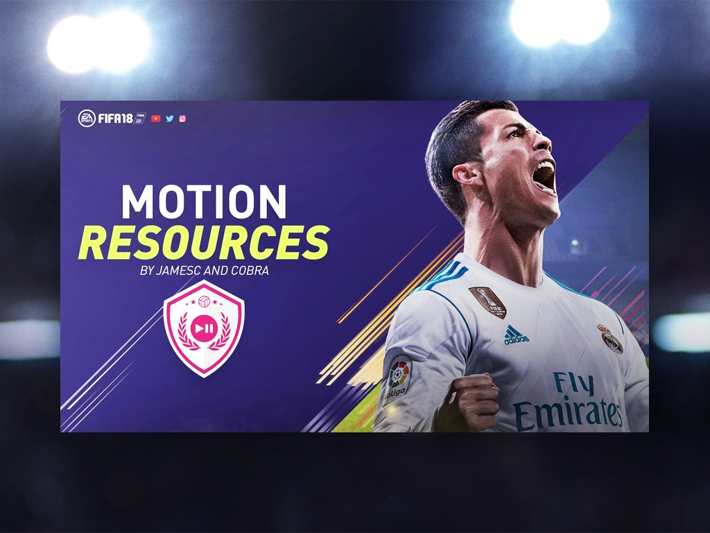 FIFA 18 Motion Pack | w. Motion Templates and More!