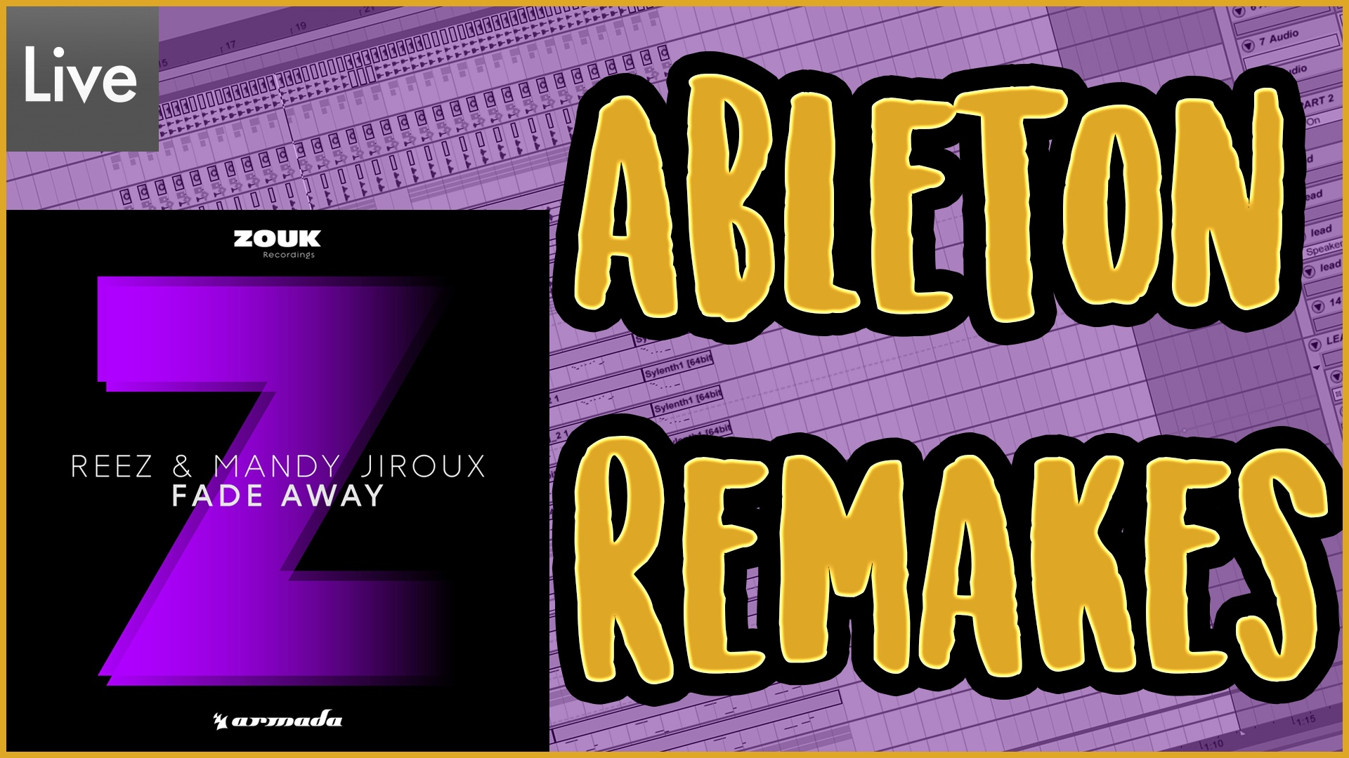 REEZ & Mandy Jiroux - Fade Away [Download Template]