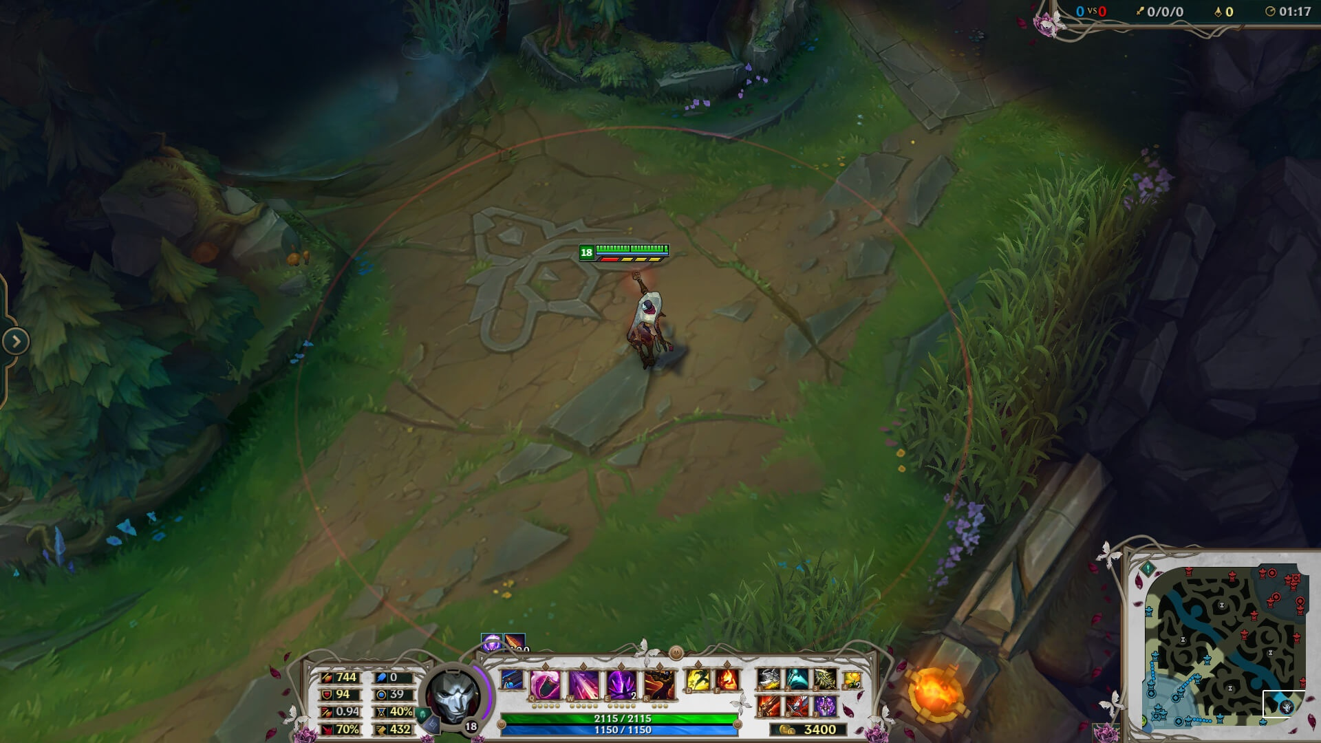 JHIN THE VIRTUOSE - STREAM OVERLAY