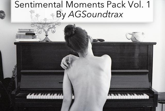 Sentimental Moments Pack Vol. I (14Min. in Wav & Mp3 Format)