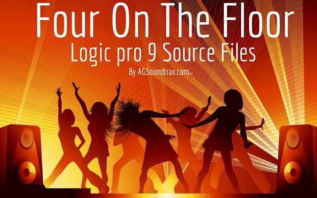 Four On The Floor - Logic Pro Project Source Files
