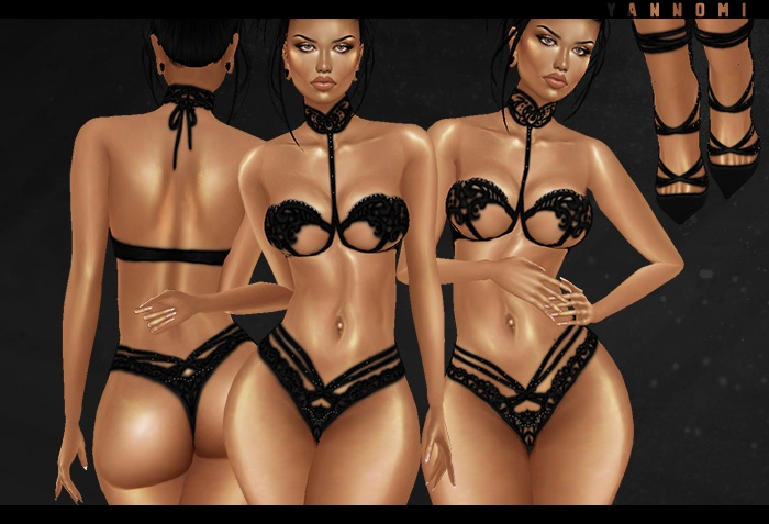 IMVU 2018: night lingerie set