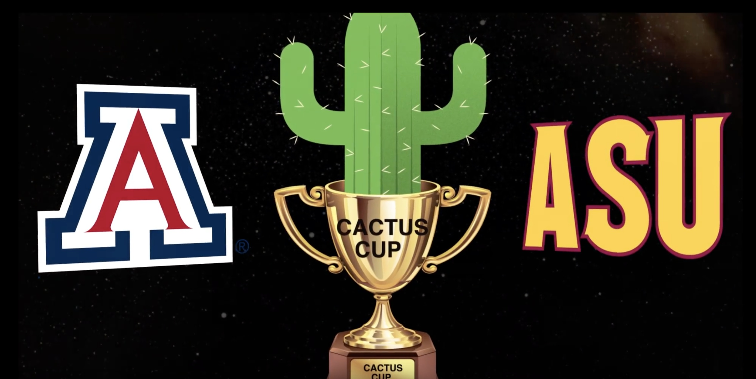 "Adobe After Effects Project File: ""UA Hockey Vs ASU [UA Wins the Cactus Cup!!]"""