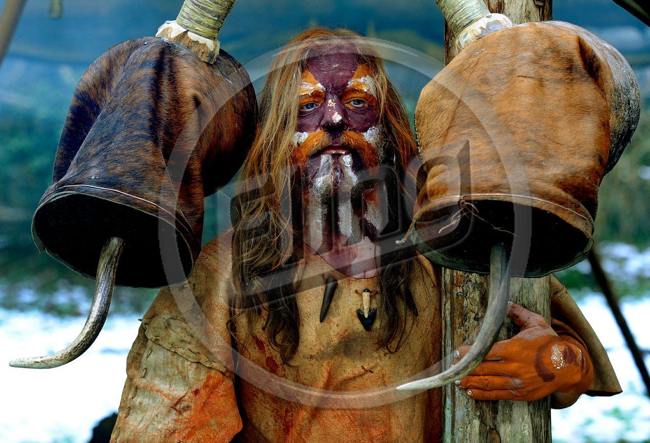 Prehistoric Man Image.