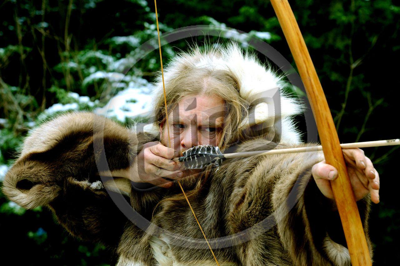 Prehistoric Archer Image