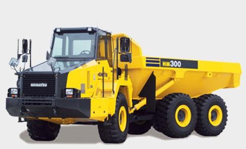 Komatsu HM350-2 Articulated Dump Truck Service Shop Manual(A11001 and up)