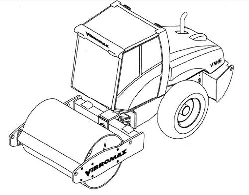Vibromax VM116 VM166 VM186 Single Drum Roller Service Repair Manual Download