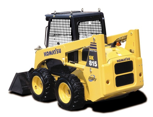 Komatsu SK815-5N SK815-5NA Skid-Steer Loader Service Shop Manual